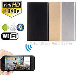 WIFI USB Battery Power Bank, 5000mAh, Putanga Night, Rapu Motion (SPY054)