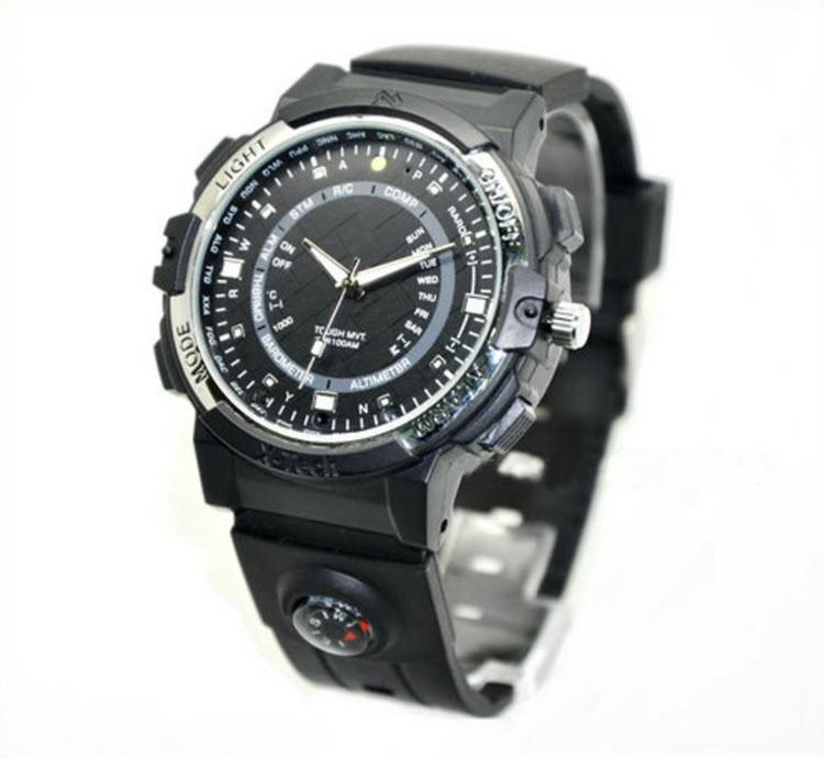 WIFI Watch Camera, P2P, IP, Video 1280720p, App Control - 2