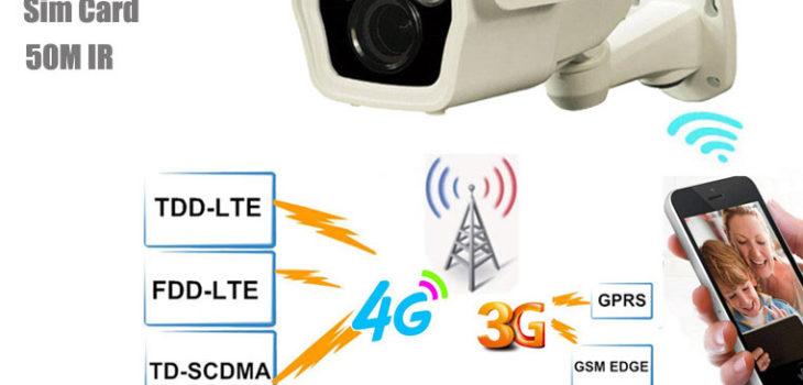 4G IP Camera