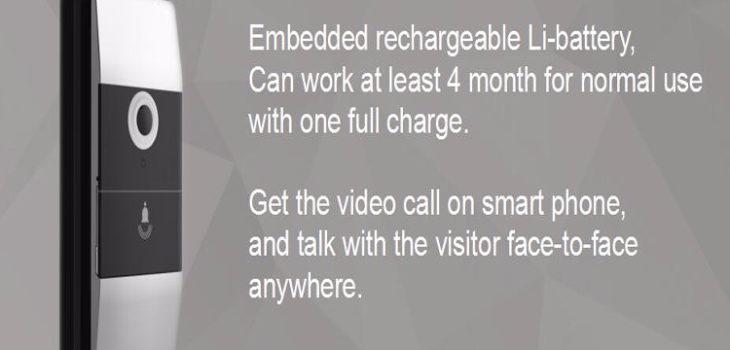 Wifi Wireless Video Camera Door Bell (IP011) - 01