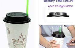 Nakatagong Camera ng Coffee Cup - 1 250px