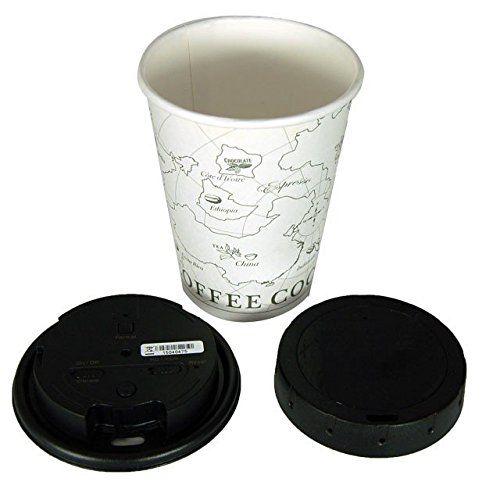 Coffee Cup Hidden Camera - 2