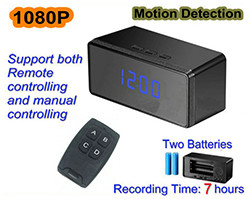 New Clock Camera, 1080p, 2 Batteries, 7 Hours (SPY102) – S$198