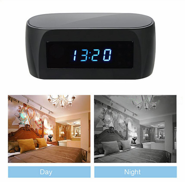 New WIFI clock camera, 12Mega pixel Camera,P2P,IP, H.264,1080p - 8
