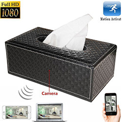 Tissue Box Camera (SPY094)