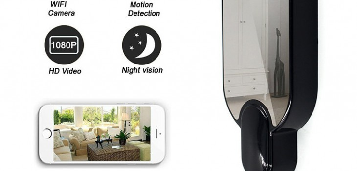 WIFI Hook Camera DVR, HD1080P, Night Vision, Motion Detection - 1