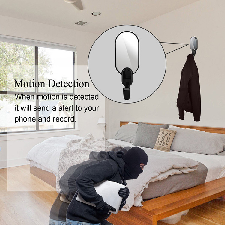 WIFI Hook Camera DVR, HD1080P, Night Vision, Motion Detection - 4