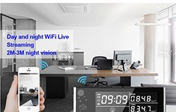 HD 1080P Air Quality Monitor Haumarutanga Wi-Fi Camera - 1 250px