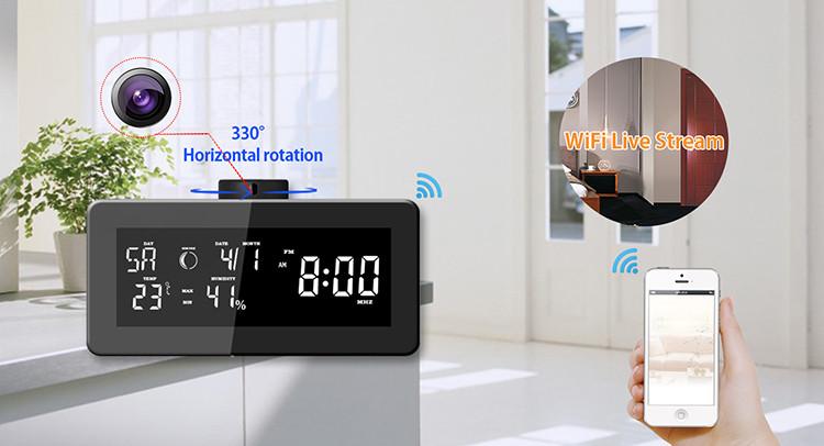 HD 1080P Weather Radio Security Wi-Fi Camera - 7