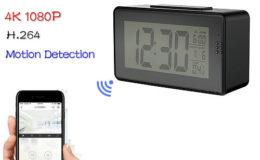 Alarm Clock Camera (Wifi) , Night vision, Motion Detection - 1
