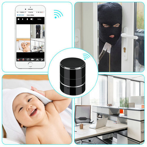 Bluetooth Music Player WIFI Camera - 6