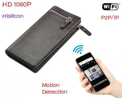 WIFI Bag Camera DVR, HD1080P/H.264, Motion Detection (SPY115)