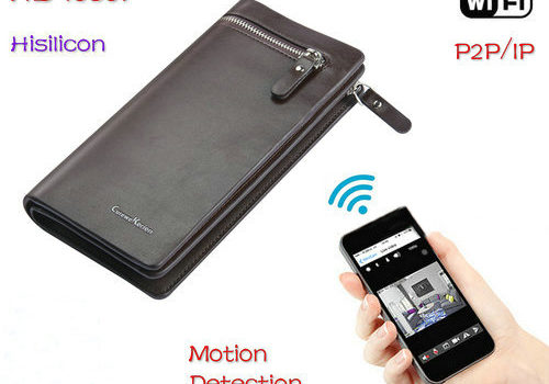 WIFI Bag Camera DVR, HD1080P, H.264, Motion Detection - 1