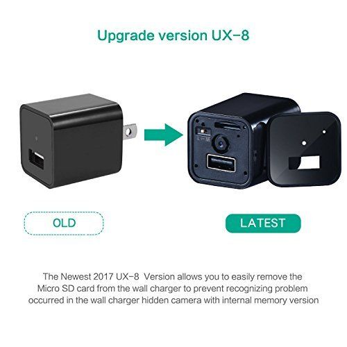 1080P HD USB Wall AC Plug Charger - 6