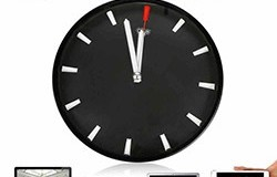 1080P WIFI P2P Spy Hidden Camera Wall Clock Video Recorder Motion Detection - 1 250px