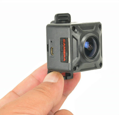 180 Degree Mini Camera, HD1080P, 30fps, SD Max 128g, Battery 60min - 2