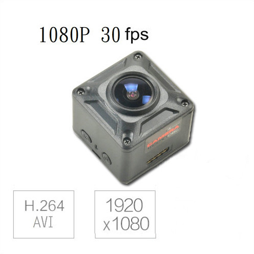 180 Degree Mini Camera, HD1080P, 30fps, SD Max 128g, Battery 60min - 4
