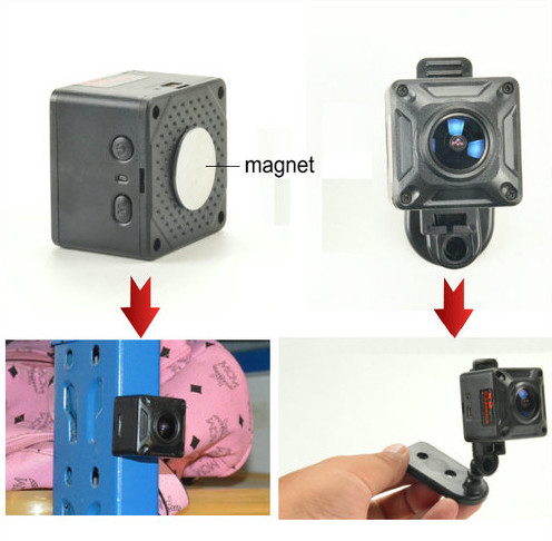 180 Degree Mini Camera, HD1080P, 30fps, SD Max 128g, Battery 60min - 5