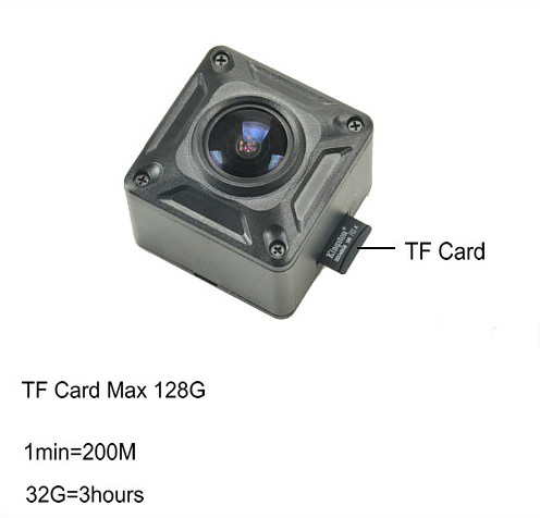 180 Degree Mini Camera, HD1080P, 30fps, SD Max 128g, Battery 60min - 6