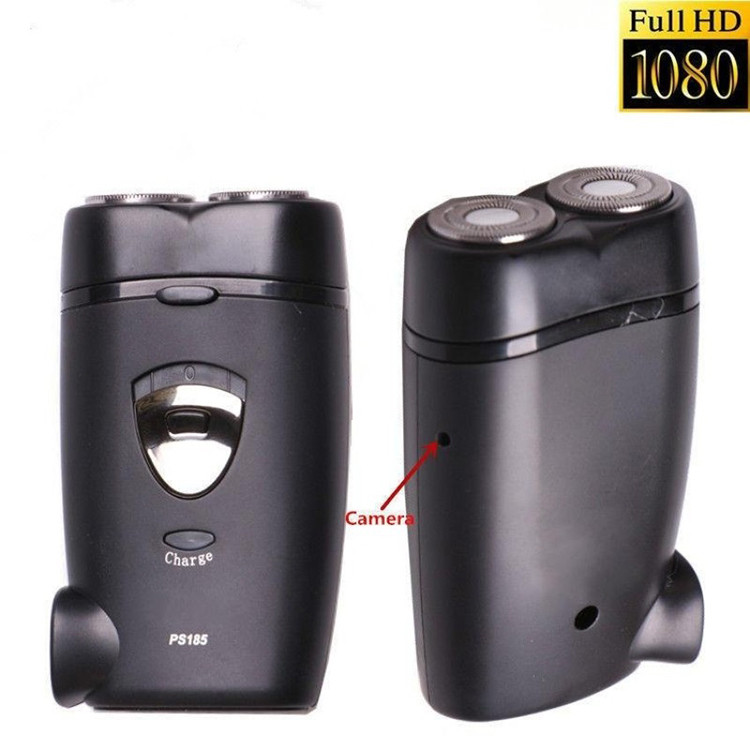 Hidden Camera Full HD 1080P Spy Camera Electric Shaver, Razor Mini DVR - 1