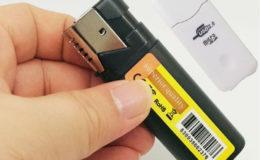 Lighter camera hidden hd spy camera 1080P True lighter camera - 1