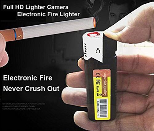 Կրակայրիչ տեսախցիկ թաքնված hd լրտես տեսախցիկ 1080P Ճշմարիտ վառիչ տեսախցիկ - 4