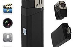 Mini Lighter Hidden Camera - Tuki TF-kortille - 1 250px