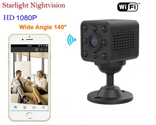 Mini WIFI Camera, HD1080P/H.264, 8 Meters Nightvision Distance (SPY131)