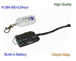 Pinhole Camera, H.264 Video Format, 720&1080P, TF Max 32G (SPY140)