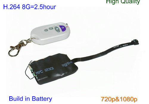 Pinhole Camera, H.264 Video Format, 720&1080P, TF Max 32G - 1