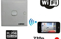 SPY WIFI Switch Camera, 1280x720p - 1 250px