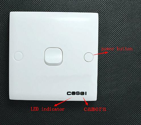 SPY WIFI Switch Camera, 1280x720p - 4