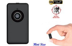 Tinny ThumbSize 1080p Camera, Motion Detection - 1 250px