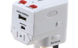 USB Traveling Charger Adapter Plug Mini Hidden Spy Camera - 1