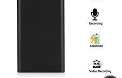 Ultra Thin HD 1080P Mobile Power Bank Spy Camera piilotettu kamera Night Vision Spy - 1 250px