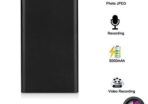 Ultra Thin HD 1080P Mobile Power Bank Spy Camera Hidden Camera Night Vision Spy - 1