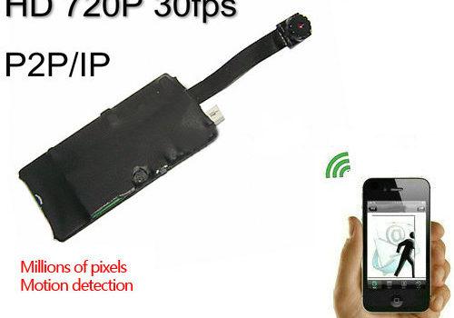 Ceamara WIFI DIY Camera, 1280x720p, H.264, iPhone, Android, PC - 1