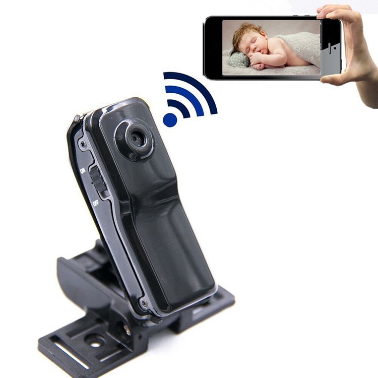WIFI P2P Wireless Security Camera Camcorder Mini Video Home Camera For Elderly And Kids (SPY127)