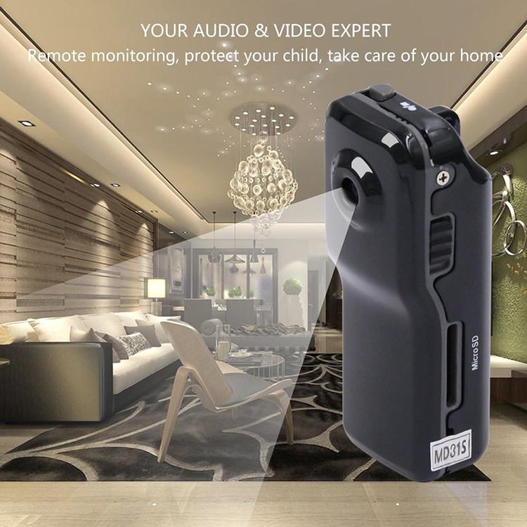 WIFI-langaton turvallisuuskamera Videokamera Mini-videokamera vanhuksille ja lapsille - 7