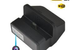 Wireless Wifi Spy Charging Dock Camera, Night Vision - 1
