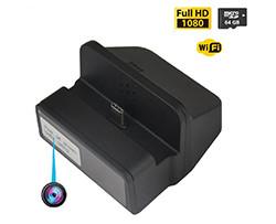 Langaton Wifi-spy-lataus telakamera, yönäkymä (SPY149) - S $ 198