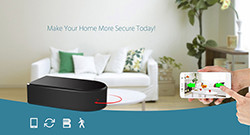 HD 1080P Pro Black Box WiFi Security Camera - 1 250px