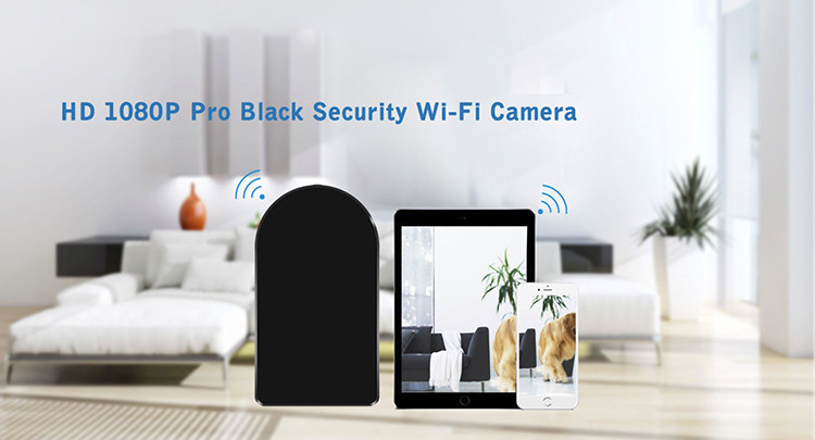 HD 1080P Pro Black Box WiFi Security Camera - 3