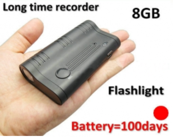 Long time LED magneto recording device, pagtatala ng baterya 100days, Bumuo sa 8GB - 1