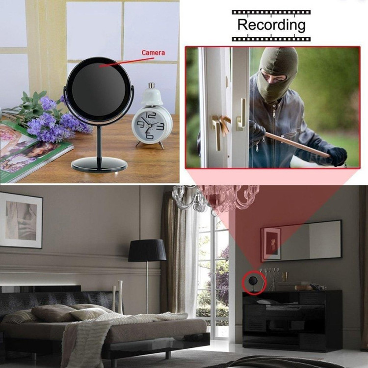 Mini Hidden Camera Mirror Motion Activated Video Recorder DV Camcorder - 6