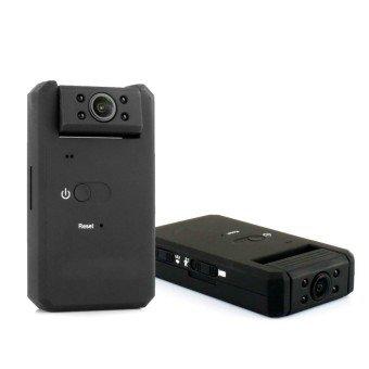 Мини мизбони пинҳонӣ пинҳон, HD 1080P Зеркашӣ Portable бо Night Vision - 2