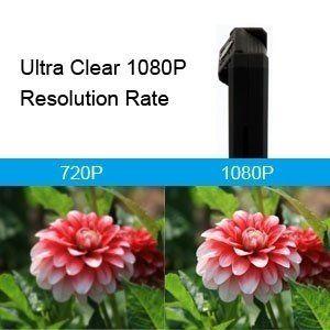 Мини мизбони пинҳонӣ пинҳон, HD 1080P Зеркашӣ Portable бо Night Vision - 7