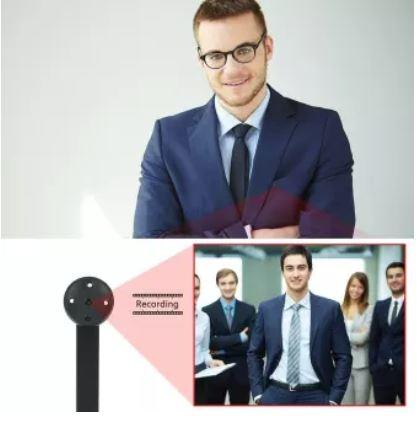 Mini Spy Shirt Button Camera Recorder - 4