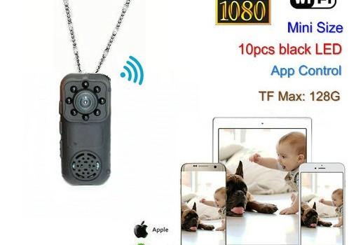 Mini Wearable Camera, 1080P, 2.0MP Camera, 140 Degree - 1