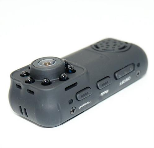 Ceamara Mini Wearable, 1080P, Ceamara 2.0MP, Céim 140 - 2